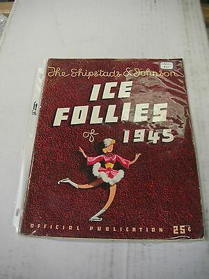Shipstads & Johnson Ice Follies of 1945 Program - Very Good Condition