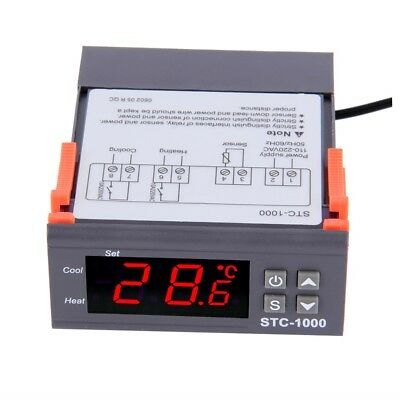 Digital STC-1000 All-Purpose Temperature Controller Thermostat With Sensor gUGH