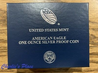 2019-W American Eagle One Ounce Silver Proof Coin (19EA)