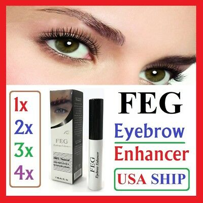 FEG Original Eyebrow Enhancer Rising Longer Thicker Growth Serum Liquid 3ml Brow