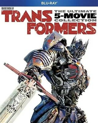 Transformers The Ultimate 5-Movie Collection(Blu-Ray-Ray)W/slipcover New