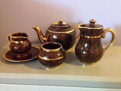 Traditional British Tea and Coffee Service