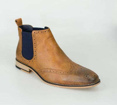 Cavani Hound Tan Men's Leather Boots