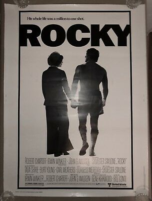 ROCKY, Original, Movie Poster, Rolled, 30 x 40, Sylvester Stallone, RARE