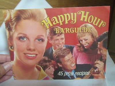 Vintage Southern Comfort 1950/60's Happy Hour Bar Guide With 45 Drink Recipes