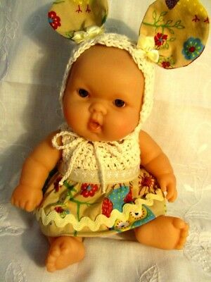 Newly dressed Berenguer Baby Doll = CREAMY