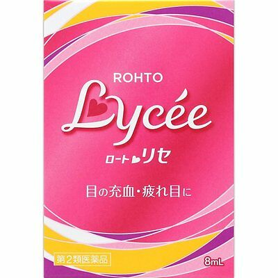 Rohto Lycee b Eyedrops 8ml from Japan