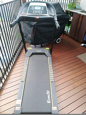 Everfit Electric Treadmill Home Exercise Folding Running Machine 18 Speed Level