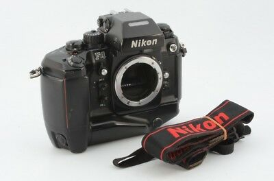 Nikon F4S 35mm SLR Film Camera Body w/MB-21 12392 YVH