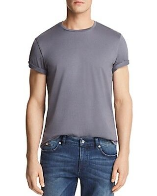 The Men's Store at Bloomingdales Cotton Crewneck Tee Bluage Size XXL