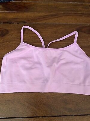 7381e6c1f18 NWOT GAP BODY Seamless Racerback Bralette In Bright Pink