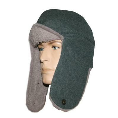 Swiss Army wool cap w/cotton lining Sizes 6 1/2-6 7/8,nonissued military surplus