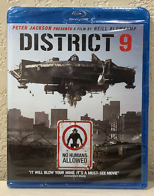 District 9 (Blu-ray Disc, 2009) BRAND NEW>FREE SHIPPING!