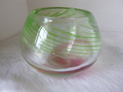 New South Wales Australian Art Glass M.Galton 1988 Signed