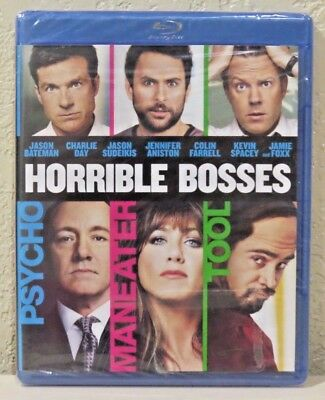 Horrible Bosses (Blu-ray Disc, 2011) BRAND NEW>FREE SHIPPING!