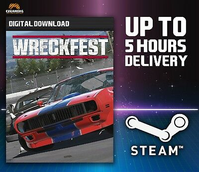 Wreckfest [PC] (2018) STEAM DOWNLOAD KEY 🎮🔑