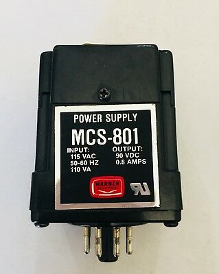 Warner Electric Power Supply MCS-801