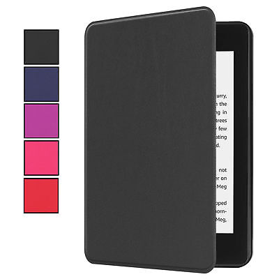Etui pour Amazon Kindle Blanc Papier 10.Generation 2018 Étui de Protection Smart