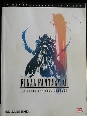 Guide - Final Fantasy XII 12 -  PS2 - FR + 3 lithographies