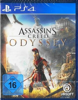 Assassin's Creed Odyssey - PlayStation 4 / PS4 - Deutsche Version - Neu & OVP