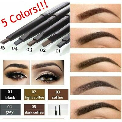 Makeup Eyebrow Eyebrow Pen w/ Eyelash Brush Long-Lasting Waterproof