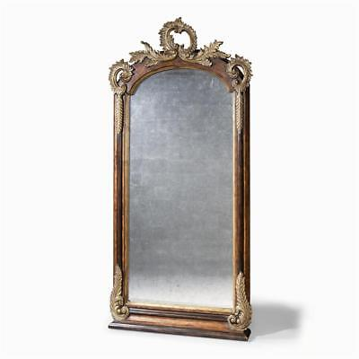 Hawkes Crest  Floor Standing Mirror RRP 2,750 by Monarch for Century Huge 2M+