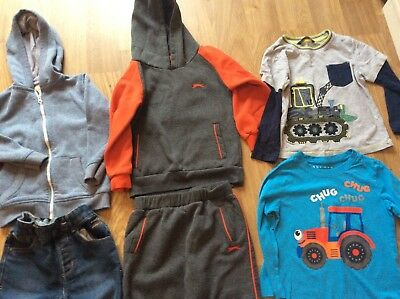 BOYS WINTER CLOTHING BUNDLE Age 3-4 Years  Tracksuit Jeans Jumpers Tops