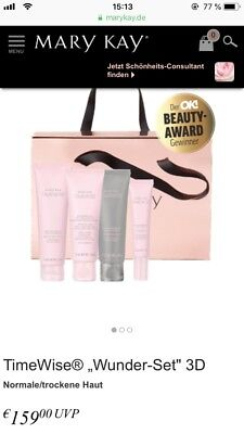 mary kay timewise Wunder-Set 3D