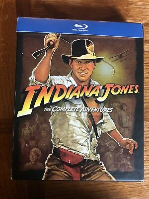 Indiana Jones: The Complete Adventures [5 Discs] [Blu-ray]
