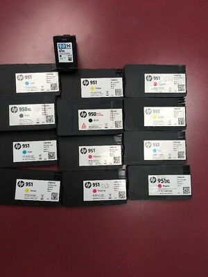 Mixed Lot Of Empty HP Ink Cartridges (13)