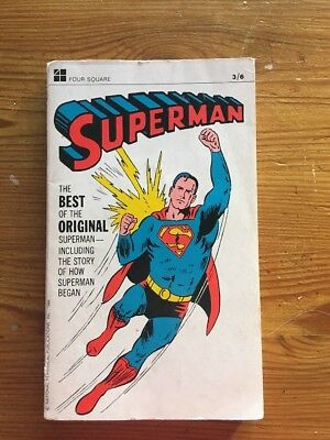 """Superman, """"The Best of the original Superman 1967, Four Square-Good condition"""