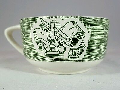 The Old Curiosity Shop Flat Cup - Green by Royal China
