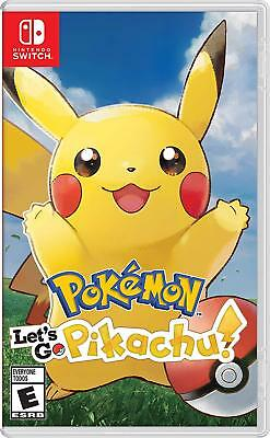 Pokemon: Let's Go, Pikachu! Nintendo Switch Brand New