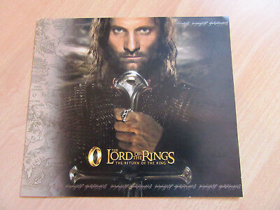 Neuseeland/New Zealand, Lord of the Rings-Return of the King presentation pack