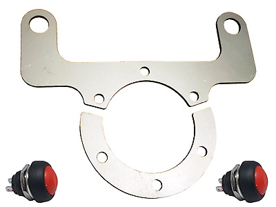 Steering Wheel Twin Button Bracket NOS Horn Switch Momo OMP Sparco & Switch