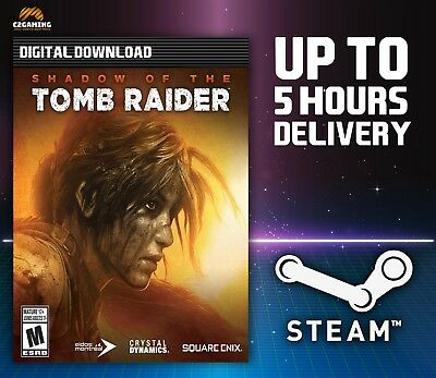 Shadow of the Tomb Raider [PC] (2018) STEAM DOWNLOAD KEY 🎮🔑