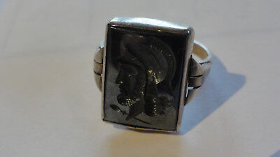 Alter Siegelring Ring Silber