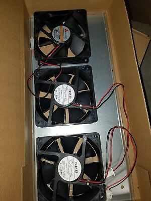 NEW Lot of (6) NMB 24 volt dc cooling Case Fan