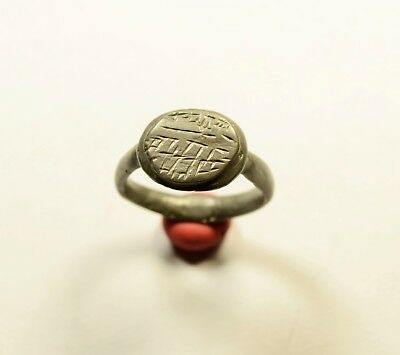 Roman Billon??? Ring With Decorated Bezel - Wearable Artifact