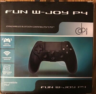 Controller Joypad Ps4 Ps3 Wireless Bluetooth Nuovo Compatibile Playstation 4 3