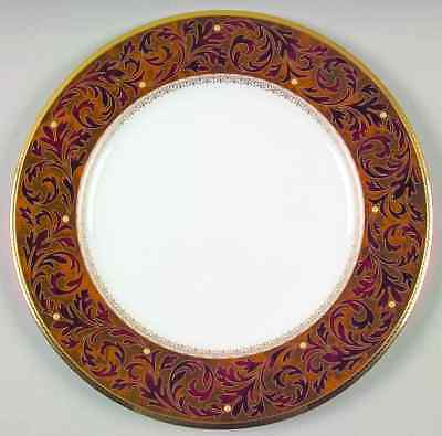 """Noritake Xavier Gold ACCENT/ LUNCHEON Plate 9 1.2 """"  NEW"""