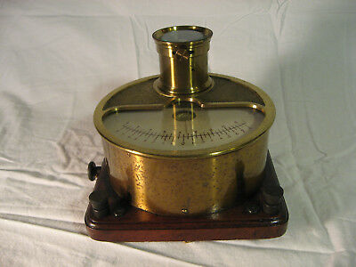 Early 20th century galvanometer made in Germany by Hartmann and Braun