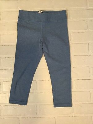 e6e8fe23e9c Girls IVIVVA by Lululemon Capris, Size 8, Rhythmic Crops, Heathered Blue