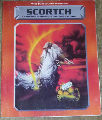 Scortch: A Sourcebook for the Wizards Basic Adventure Game / RPG / rar