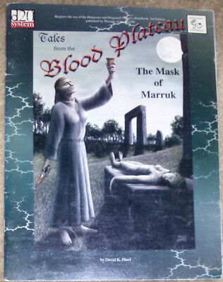 The Mask of Marruk Tales from the Blood Plateau d20 System
