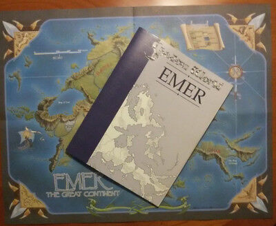 ICE Shadow World Emer Atlas + Emar The Great Continent Karte