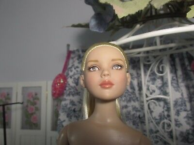 Tonner Rare Nu Mood Dance Jess, Cami Face,blonde Hair, On Cami Doll Body, Read