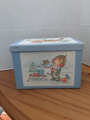 Betsey Clark - Box of 42 Christmas cards & Envelopes - Hallmark - Vintage