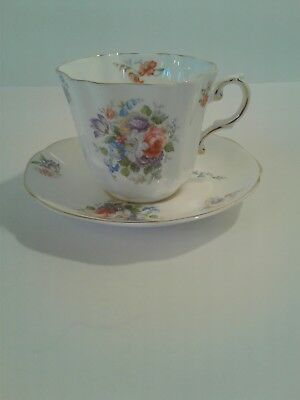 Royal Grafton Cup And Saucer Pristine No Damage Condition Gorgeous
