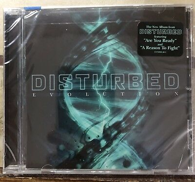 Disturbed Evolution Brand New Factory Sealed Original CD